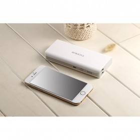 Romoss Sense 4 Power Bank 2 Port 10400mAh (ORIGINAL) - White - 5
