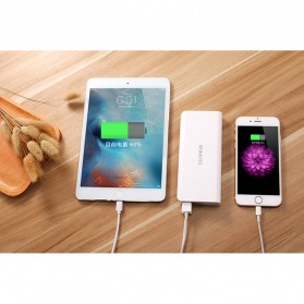 Romoss Sense 4 Power Bank 2 Port 10400mAh (ORIGINAL) - White - 6