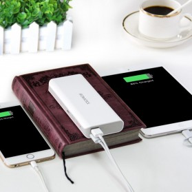 Romoss Sense 4 Power Bank 2 Port 10400mAh (ORIGINAL) - White - 7