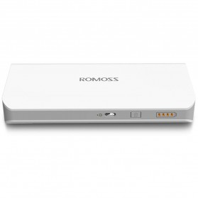 Romoss Sense 4 Power Bank 2 Port 10400mAh (ORIGINAL) - White - 10