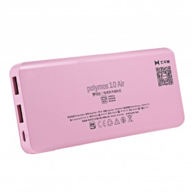 Romoss Polymos10 Air Power Bank 2 Port 10000mAh (ORIGINAL) - Pink - 2