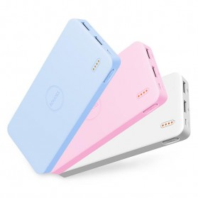 Romoss Polymos10 Air Power Bank 2 Port 10000mAh (ORIGINAL) - Pink - 9