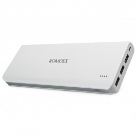 Romoss Sense 9 Power Bank 3 Port 25000mAh (ORIGINAL) - White