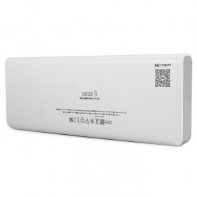 Romoss Sense 9 Power Bank 3 Port 25000mAh (ORIGINAL) - White - 5