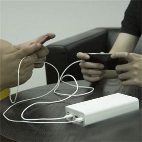 Romoss Sense 8 Power Bank USB Type C Lightning 3 Port 30000mAh (ORIGINAL) - White - 3