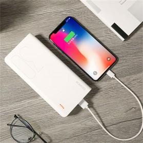 Romoss Sense 8 Power Bank USB Type C Lightning 3 Port 30000mAh (ORIGINAL) - White - 5