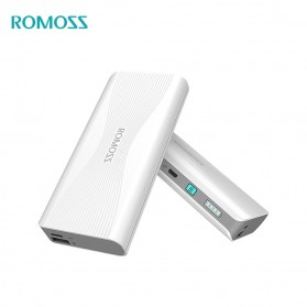 Romoss Sense 4+ Power Bank 2 Port USB Type C 10000mAh Quick Charge 3.0 (ORIGINAL) - White