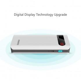 Romoss Sense 4P Power Bank LCD 2 Port 10400mAh (ORIGINAL) - White - 6