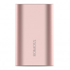 Baterai & Charger - Romoss A10 Power Bank 2 Port Lightning Micro USB 10000mAh (ORIGINAL) - Rose Gold