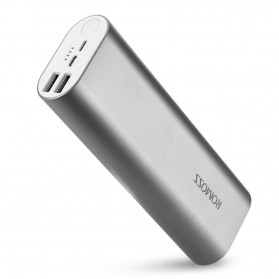 Romoss ACE20 Power Bank 2 Port Lightning Micro USB 20000mAh (ORIGINAL) - Gray