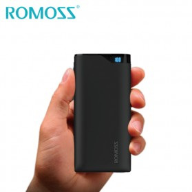 Romoss Neon Series Power Bank LCD 2 Port 10000mAh (ORIGINAL) - NE10 - Black - 2