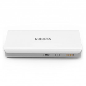 Romoss Sense 4 Mini Power Bank 10000mAh Polymer Battery (Replika 1:1) - White - 1