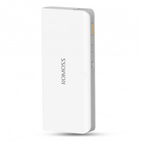 Romoss Sense 4 Mini Power Bank 10000mAh Polymer Battery (Replika 1:1) - White - 2