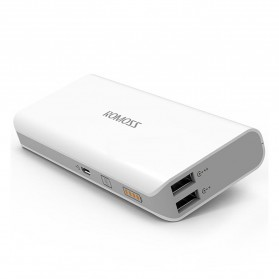 Romoss Sense 4 Mini Power Bank 10000mAh Polymer Battery (Replika 1:1) - White - 4