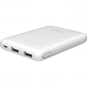 Baterai & Charger - Romoss Pure 05  Power Bank 2 Port 5000mAh - PSP05 - White