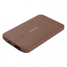 Orico Power Bank 2500mAh - LD25 - Brown - 1