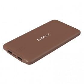 Orico Power Bank 10000mAh - LD100 - Brown
