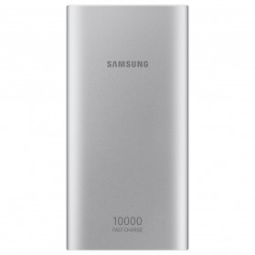 Samsung Power Bank 2 Port USB with Type-C Input Fast Charging 10000mAh (Replika 1:1) - Silver