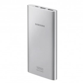 Samsung Power Bank 2 Port USB with Type-C Input Fast Charging 10000mAh (Replika 1:1) - Silver - 2