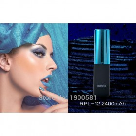 Remax Lipmax Series Lipstick Power Bank 2400mAh - Blue