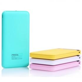 Proda Pingan Series Dual USB Output Power Bank 12000mAh - PPP-9 - White - 5