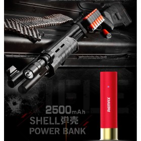 Remax Power Bank Shell Series 2500mAh - RPL-18 - Black - 9