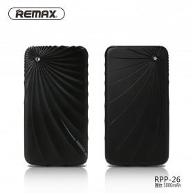Remax Power Bank Gorgeous Series 5000mAh - RPP-26 - Black