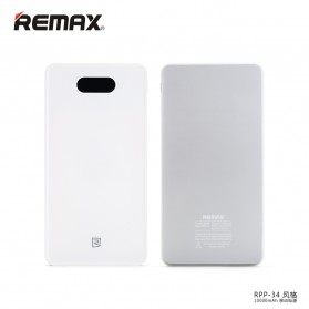 Remax Power Bank Muse Series 10000mAh - RPP-34 - White