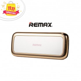Remax Power Bank Mirror Series 10000mAh - RPP-36 - Golden