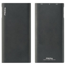 Remax Kinzy Series Dual USB Output Power Bank 10000mAh - PPP-13 - Black
