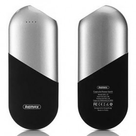 Remax Capsule Series Power Bank 5000mAh - RPL-22 - Silver