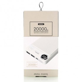Remax Kooker Power Bank 2 USB 20000mAh - RPP-59 - Black - 6