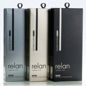 Remax Relan Power Bank 10000mAh - RPP-65 - Black - 4