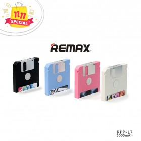 Remax Disk Power Bank 5000mAh - RPP-17 - Black