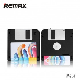 Remax Disk Power Bank 5000mAh - RPP-17 - Black - 2