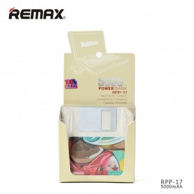 Remax Disk Power Bank 5000mAh - RPP-17 - Black - 5
