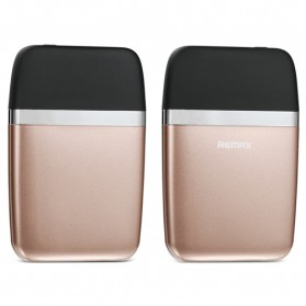 Remax Aroma Power Bank 6000mAh - RPP-16 - Black Gold - 1