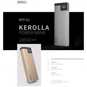 Remax Kerolla Power Bank 10000mAh - RPP-61 - Black - 6