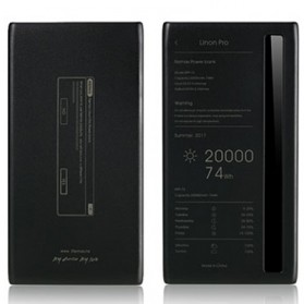 Remax Power Bank Linon Pro Series 2 Port 20000mAh - RPP-73 - Black