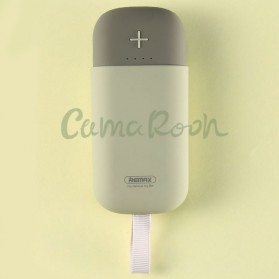 Remax Power Bank Camarooh 2 USB Port 2.1A 5000mAh - RPL-32 - Gray