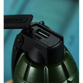 Remax Grenade Power Bank 5000mAh - RPL-28 - Black - 5