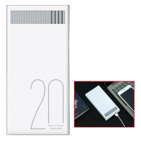 Remax Revolution Series Power Bank 20000mAh - RPL-58 - White