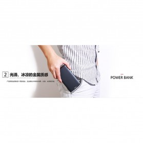 Proda Sunten Power Bank USB Type C 2 Port 10000mAh - PD-P02 - Black - 5