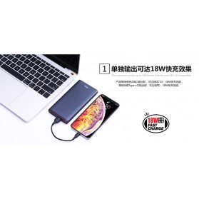 Proda Sunten Power Bank USB Type C 2 Port 10000mAh - PD-P02 - Black - 6