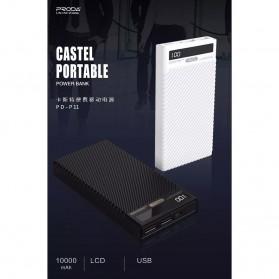 Proda Castel Power Bank 2 Port 10000mAh - PD-P11 - Black - 2