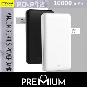 Proda Hanjon Power Bank 2 Port 10000mAh - PD-P12 - Black - 2