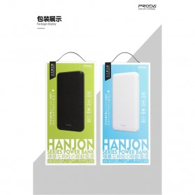 Proda Hanjon Power Bank 2 Port 10000mAh - PD-P12 - Black - 6