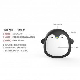 Remax Pinguin Power Bank 3600mAh Hand Warmer - RL-WM15 - Black - 3