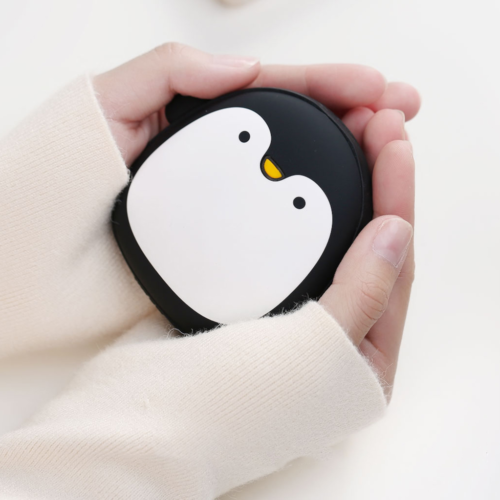 Remax Pinguin Power Bank 3600mAh Hand Warmer - RT-SP15 - Black