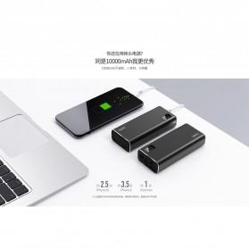 Remax Mini Pro Power Bank Dual USB 10000mAh - RPP-155 - Black - 2